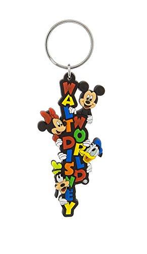 (Walt Disney World Logo Mickey Mouse and Pals Keychain Key Chain)