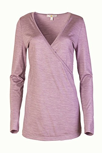Silk Mujer Casual Camisas 2 Para M arin 2 Violett and wqvExFa