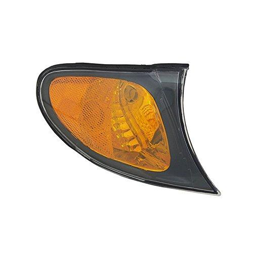 NEW RIGHT AMBER TURN SIGNAL LIGHT FITS BMW 325I 2002-05 BM2521109 63137165860 63-13-7-165-860 63 13 7 165 ()