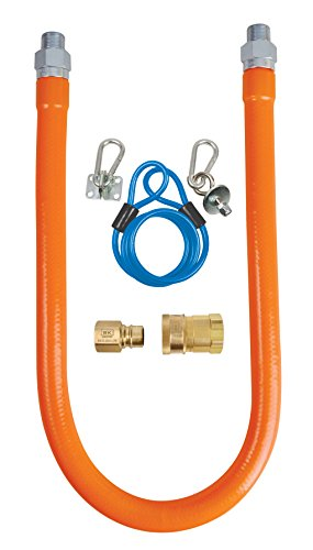 Gas Hose Connection Kit by BK Resources with 3/4