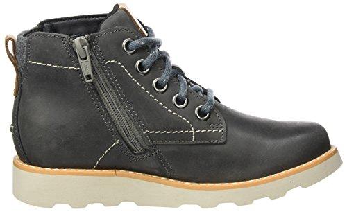 Clarks Jungen Dexy Top Inf Stiefel Grau (Grey Leather)