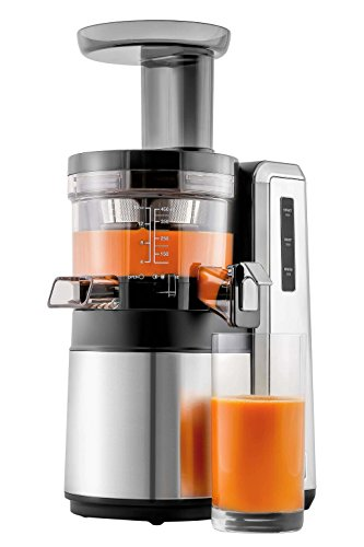 HUROM HZ Slow Juicer, Silver Appliances Store