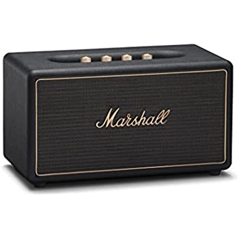 Marshall Stanmore Wireless Multi-Room Wi-Fi and Bluetooth Speaker 89ecdb4cc3a49