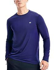 Zengjo Mens Base Layer Shirt Long Sleeve Undershirt for Men