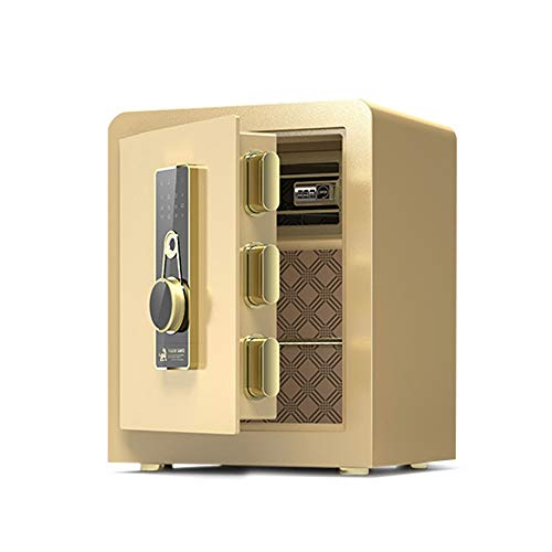 Baianju Invisible Small Safe Household Wall-to-Wall All-Steel Safe Household Small Safe Home Wall Safe Home Small Wardrobe Safe Deposit Box Fingerprint Right Door