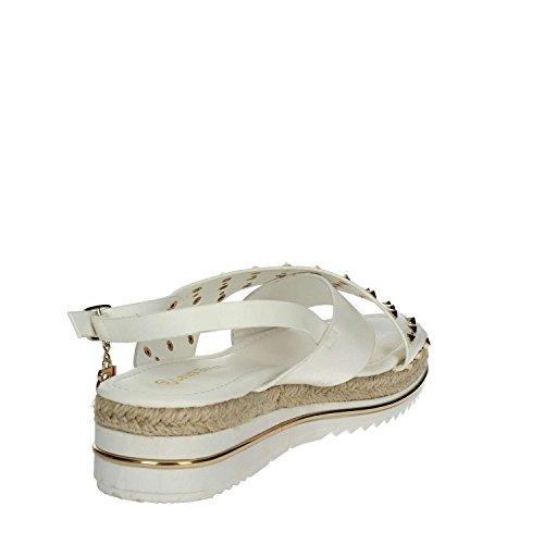 Biagiotti Laura Blanc 604 Femme Sandale pOfxqBzwa