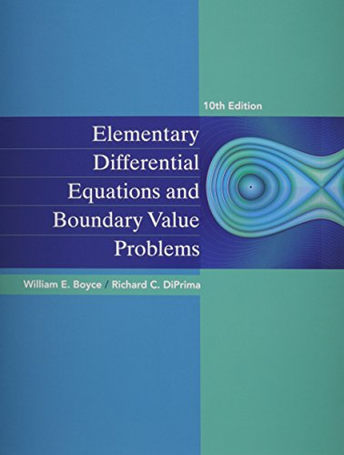Elementary Differential Equations and Boundary Value Problems 10e with WebAssign Plus 1 Semester Set
