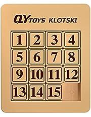 Cuberspeed QiYi 15 Klotski Puzzle Slide Number Puzzle Puzzle Brain Teasers Toy Tangram Jigsaw Intelligence