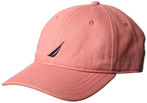 s 6-Panel Cap Hat, Pinkshrimp, One Size ()