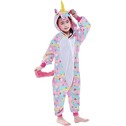 Cheap Belifecos Flannel Children Unicorn Cosplay Costume
