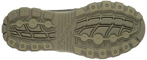 Skechers Verde blk Hombre blk Skechers 64502 64502 Oliva zxORz