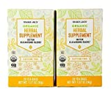 Trader Joe's - Detox Cleansing Blend Organic Herbal Supplement Tea 20 Tea Bags, Net Wt 1.27 oz (36g) - 2-PACK
