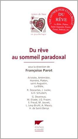 Du rêve au sommeil paradoxal pdf ebook