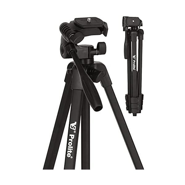RetinaPix Prolite Tripod PL 590-LW (55 inch | Payload Upto 2.5 kg) | for DSLR, Camera, Mobile, GoPro