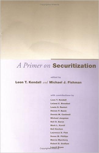 Amazon com: A Primer on Securitization (The MIT Press