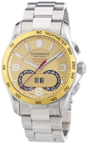 Victorinox-Swiss-Army-Mens-241619-Chrono-Classic-Stainless-Steel-Watch
