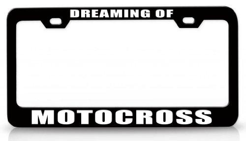 motocross license plate frame - 5