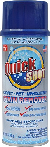Instagone's Quick Shot Carpet, Pet & Upholstery Stain Remover 6 Pack by INSTAGONE
