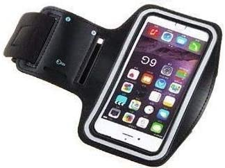 BDL Brazalete Deportivo Universal Armband para móvil, Pulsera para Correr y Ejercicios con Correa Ajustable, Funda para Smartphone de hasta 6 Pulgadas como iPhone X: Amazon.es: Electrónica