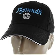 Plymouth Black Baseball Cap Hat Prowler Roadrunner Barracuda