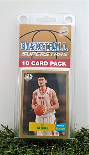 - Yao Ming- (10) Card Pack NBA Basketball Superstar Ming Starter Kit all Different cards. Comes in Custom Souvenir Case! Perfect for the Ultimate Ming Fan! by 3bros