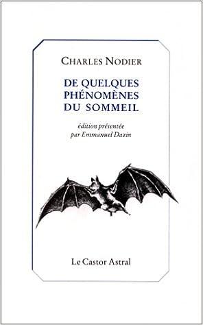 Book De quelques phénomènes du sommeil (Collection