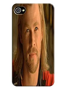Cool Chris Hemsworth Thor fashionable Unique Durable TPU Hard Protective Case Cover for iphone 4/4s
