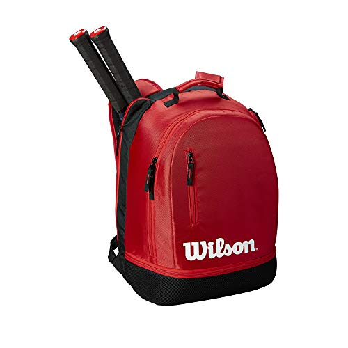 (Wilson Team Backpack, Black/Red)