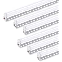(Pack of 6) Barrina LED T5 Integrated Single Fixture,...