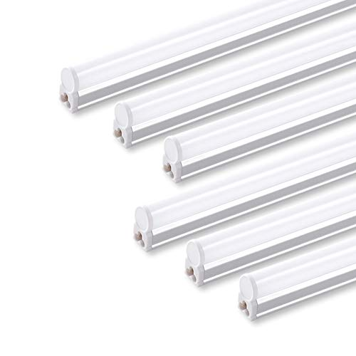 (Pack of 6) Barrina LED T5 Integrated Single Fixture, 4FT,...