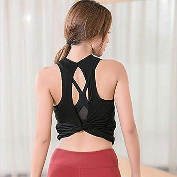 SGYHPL Camisetas Deportivas De Las Mujeres Sin Mangas Yoga ...