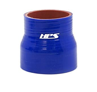 HPS HTSR-225-250-BLUE Silicone High Temperature 4-ply Reinforced Reducer Coupler Hose Blue 3 Length 2-1//4  2-1//2 ID 60 PSI Maximum Pressure