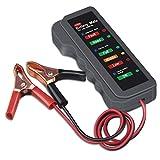 OBDMONSTER 12V Car Battery Tester Digital Alternator Tester, Check Battery Condition & Alternator Charging for Car Motorcycle