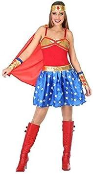 Atosa-54613 Disfraz Héroe Comic, Color Rojo, XL (54613: Amazon ...