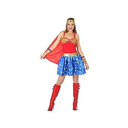 Atosa-54612 Disfraz Héroe Comic, Color Rojo, M-L (54612: Amazon.es ...