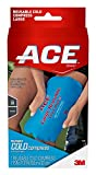 ACE Reusable Cold Compress, Ideal for sprains, strains, muscle aches, bumps, bruises and minor burns, Soft-touch fabric to apply directly to skin, Large