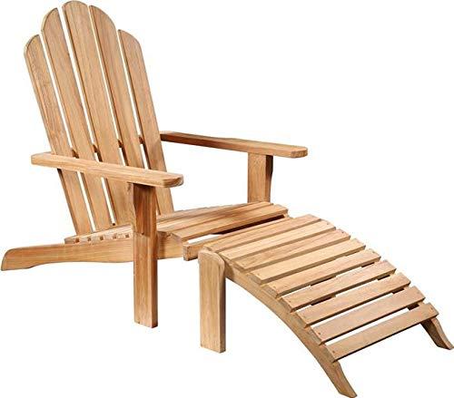 (Lounge Chair Dovetail Steamer Solid Premium Teak New Outdoor)