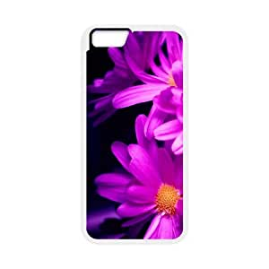 [Sunny Daisy] Pink Daisy Ilike Case for IPhone 6, IPhone 6 Case Pattern Design for Men {White}