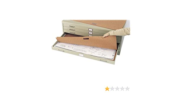 Redrope 10//Carton 49-1//2w x 37-1//2d SAF3013 Flat File Plan Portfolios with Hand Hold