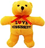 CityDreamShop State of Mississippi Souvenir Plush Bear