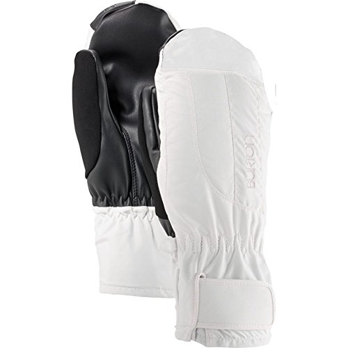 Burton Women's Insulated, Warm, and Waterproof Profile Under Mitten with Touchscreen, Stout White, Medium