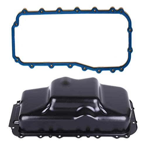 2010 Chrysler Voyager Engine - TUPARTS Engine Oil Pan for Chrysler Dodge Grand Caravan Plymouth Jeep 93-10 with Oil Pan Gasket Engine Oil Drain Pan 3.3L 3.8L with OE OS30622R Oil Drip Pan Oil Change Pan