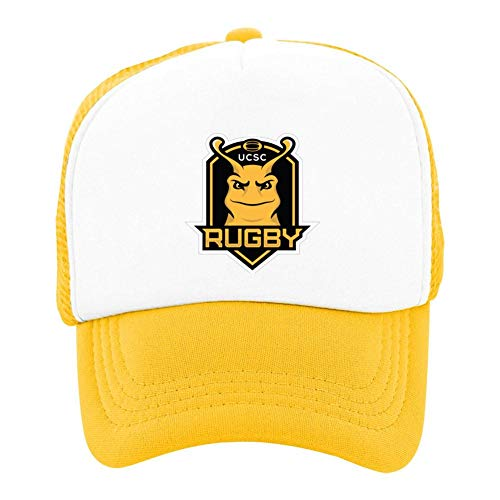 (Gukgclm Kids Cap,Cool UC San-ta Cruz Banana Slugs Logo Fashion Printed Mesh Basketball Hat Creative Design)