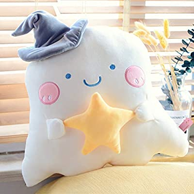 WANK Keychain Plush Mini Pillow Decoration Cute Little Ghost Key Chain Pendant Stuffed Doll Toy Gifts for Kids Birthday: Toys & Games