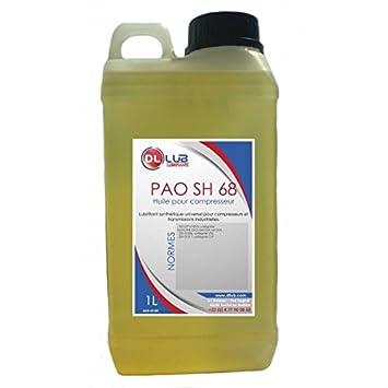dllub - Aceite compresor sintético pao 68 - 1 litro: Amazon.es ...