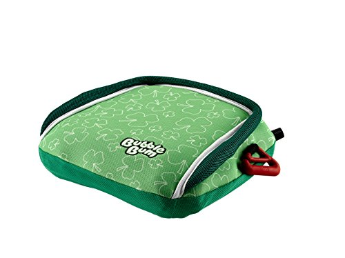 BubbleBum Backless Inflatable Booster Car Seat, Irish Shamrocks Review