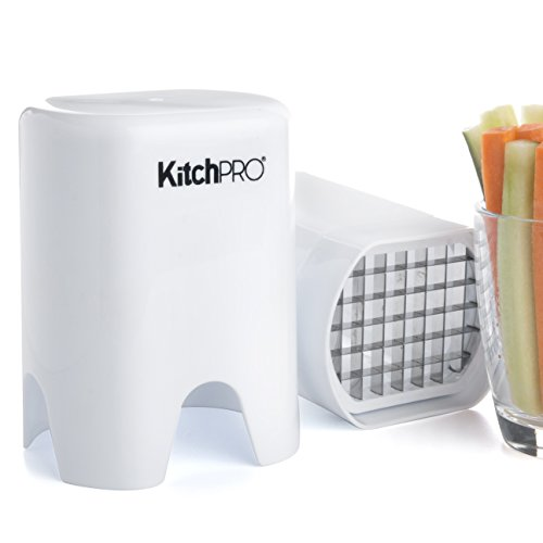 Kitchpro Veggie Chopper - Vegetable Stick Maker, French Fries, Chips,...