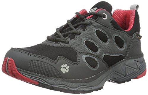 Jack Wolfskin Women's Venture Fly Texapore W Low Rise Hiking Boots, Rosebud Grey (Red Fire 2590)