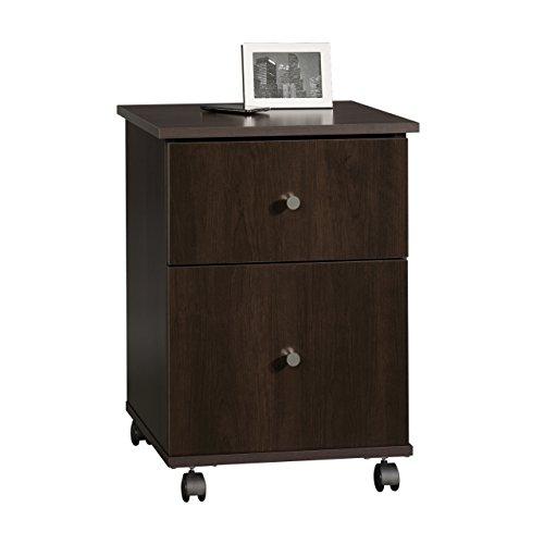 Sauder Office Furniture File Cart, Cinnamon Cherry Finish