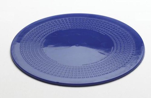 NRS Healthcare Dycem Non-Slip Circular Mat 19 cm (7.5 inches) Diameter, Blue by NRS Healthcare